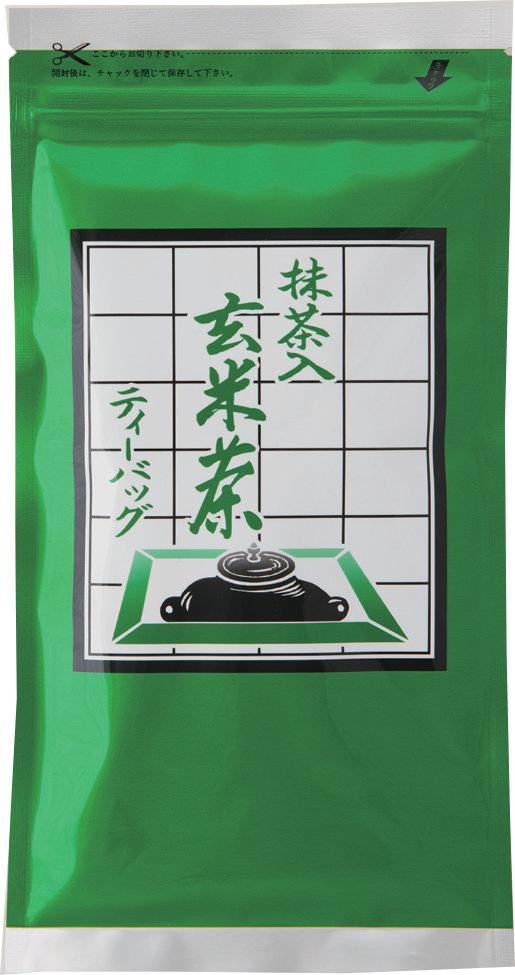 抹茶入り玄米ティーバッグ 5g×20ヶ入